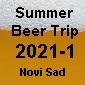 Pivné potulky 1. 2021 Srbsko - Novi Sad