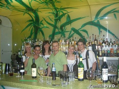 Fernet Stock Citrus party v Bamboo