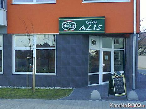 Kafíčko ALIS-pohľad z vonku
