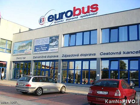 Eurobus AS denný bar
