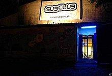 Subclub - vchod