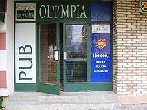 Olympia - vchod
