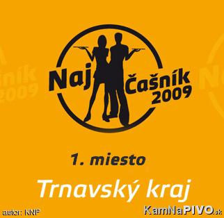 1. miesto v súťaži Najčašník 2009