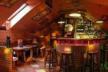 Oregon - horný bar