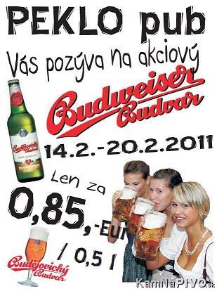 BUDVAR akcia